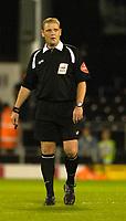 Photo: Daniel Hambury.<br />Fulham v Wycombe Wanderers. Carling Cup. 20/09/2006.<br />Referee A. Hall.