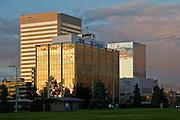 Chevron and Conoco Phillips offices in Anchorage Alaska