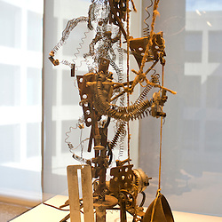 The Sorceress by Swiss artist Jean Tinguel.y is featured in the Hirshhorn Museum of the Smithsonian Institution.
