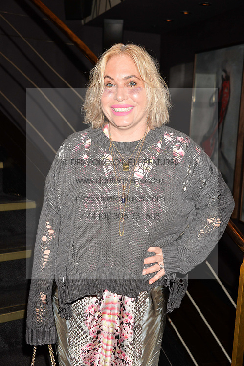 Brix Smith Start at the Quaglino's Q Legends Summer Launch Party hosted by Henry Conway at Quaglino's, 16 Bury Street, London England. 18 July 2017.