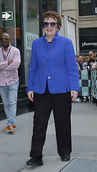 September 20, 2017 - New York, New York, United States - Tennis player Billy Jean King made an appearance at Build Series on September 20 2017 in New York City  (Credit Image: © Curtis Means/Ace Pictures via ZUMA Press)