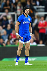 Carlo Canna of Italy<br /> <br /> Photographer Craig Thomas/Replay Images<br /> <br /> Quilter International - England v Italy - Friday 6th September 2019 - St James' Park - Newcastle<br /> <br /> World Copyright © Replay Images . All rights reserved. info@replayimages.co.uk - http://replayimages.co.uk