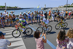 July 7, 2018 - Istra, Russie - OFFREDO Yoann of Wanty - Groupe Gobert, LEDANOIS Kevin of Team Fortuneo - Samsic and COUSIN Jerome of Direct Energie (Credit Image: © Panoramic via ZUMA Press)