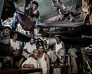 Carcel de Chalatenango lugar donde tienen presos a pandilleros de la MS.