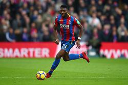 31 December 2017 -  Premier League - Crystal Palace v Manchester City - Timothy Fosu-Mensah of Crystal Palace - Photo: Marc Atkins/Offside