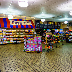 Hanover, PA / USA - February 19, 2020: The Utz Potato Chip Company outlet store in Hanover.