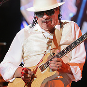 Carlos Santana plays The White River Ampitheatre, Auburn, WA on 8-25-2011.