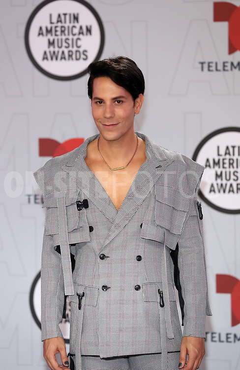 """2021 LATIN AMERICAN MUSIC AWARDS -- """"Red Carpet"""" -- Pictured: Christian Chávez at the BB&T Center in Sunrise, FL on April 15, 2021 -- (Photo by: Aaron Davidson/Telemundo)"""