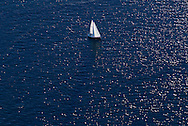 Connecticut, Long Island Sound, sailboat, Greenwich