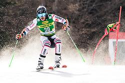 Sarrazin Cyprien (FRA) during the Audi FIS Alpine Ski World Cup Men's Giant Slalom at 60th Vitranc Cup 2021 on March 13, 2021 in Podkoren, Kranjska Gora, Slovenia Photo by Grega Valancic / Sportida