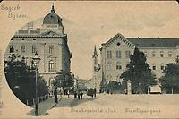 Zagreb : Frankopanska ulica = Agram : Frankopangasse. <br /> <br /> ImpresumZagreb : Papirnica J. i S. Fürst, [19--].<br /> Materijalni opis1 razglednica : tisak ; 9 x 14 cm.<br /> NakladnikPapirnica J. i S. Fürst<br /> Mjesto izdavanjaZagreb<br /> Vrstavizualna građa • razglednice<br /> ZbirkaGrafička zbirka NSK • Zbirka razglednica<br /> ProjektPozdrav iz Hrvatske<br /> Formatimage/jpeg<br /> PredmetZagreb –– Frankopanska<br /> SignaturaRZG-FRA-3<br /> Obuhvat(vremenski)20. stoljeće<br /> NapomenaPoleđina razglednice namijenjena je samo za adresu. • Razglednica nije putovala.<br /> PravaJavno dobro<br /> Identifikatori000952495<br /> NBN.HRNBN: urn:nbn:hr:238:299497 <br /> <br /> Izvor: Digitalne zbirke Nacionalne i sveučilišne knjižnice u Zagrebu