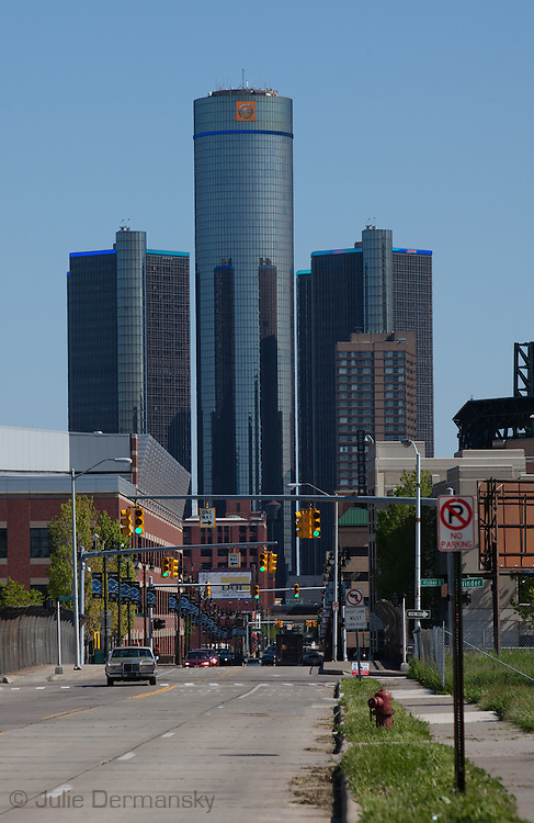 GM world headquarters in Detroit