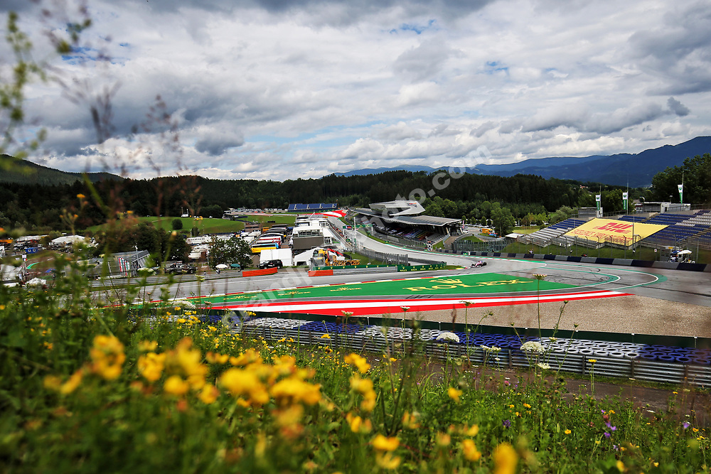 Sergio Perez (Racing Point-Mercedes) during practice for the 2020 Austrian Grand Prix at the Red Bull Ring in Spielberg. Photo: Grand Prix Photo