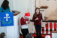 Emmanuel Lutheran Church - Norwood MA 2019 Christmas pageant was held on Sunday, December 15, 2019.