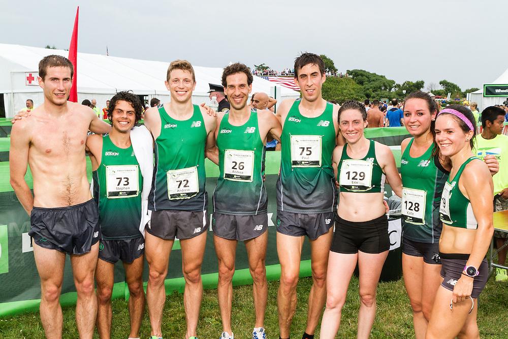 Sorgato, Rupprecht, Varankas, Team New Balance Boston