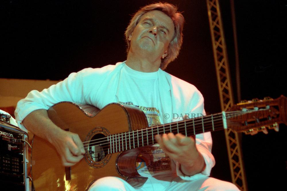 John McLaughlin, 1992<br /> Photo by Darrin Zammit Lupi