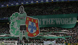 September 27, 2017 - Lisbon, Lisbon, Portugal - Sportings supporters during the match between Sporting CP v FC Barcelona UEFA Champions League playoff match at Estadio Jose Alvalade on September 27, 2017 in Lisbon, Portugal. (Credit Image: © Dpi/NurPhoto via ZUMA Press)
