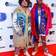 NLD/Amsterdam/20181029 - MTV pre party 2018, Ronnie Flex en Caza Kimperman