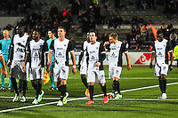 Deception groupe Metz  - 13.12.2014 - Lorient / Metz  - 18eme journee de Ligue1<br />