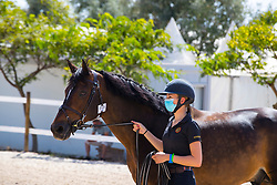 Putters Evelyne, BEL, Uith de Rotes<br /> FEI Jumping European Championships for Young Riders, Juniors, Children - Vilamoura 2021<br /> © Hippo Foto - Leanjo de Koster<br /> 18/07/2021