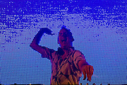 Fatboy Slim at the Atmosphere Club in Johannesburg, South Africa, 2007.