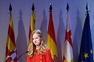 110419 Spanish Royals attends Delivery of 10th Princess of Girona Awards