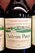 Fine wine Chateau Pavie 1er Grand Cru Classe 2006 vintage in Vignobles et Chateaux shop in St Emilion, Bordeaux, France