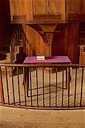 Northcentral Pennsylvania, 1822 ME Church, Interior, West Burlington, PA, Bradford County