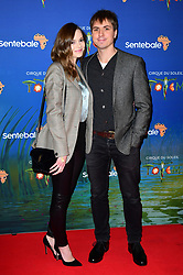 Hannah Tointon and Joe Thomas attending the premiere of Cirque du Soleil's Totem, in support of the Sentebale charity, held at the Royal Albert Hall, London.