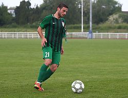 May 31, 2018 - London, United Kingdom - L.Kogonia of Abkhazia .during Conifa Paddy Power World Football Cup 2018  Group B match between  Abkhazia  against Tibet at Queen Elizabeth II Stadium (Enfield Town FC), London, on 31 May 2018  (Credit Image: © Kieran Galvin/NurPhoto via ZUMA Press)