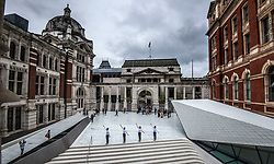 Julie Cunningham & Company perform in the newly unveiled Sackler Courtyard at the Victoria and Albert museum in London.
