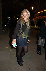 LAINEY SHERIDAN-YOUNG at a party to launch Pearl Lowe's fashion held at The Cross. 141 Portland Road, Holland Park, W11 on 30th October 2006.<br /><br />NON EXCLUSIVE - WORLD RIGHTS