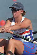 St Catharines, Ontario, CANADA 1999 World Rowing Championships. Katherine GRAINGER. [Mandatory Credit Peter Spurrier Intersport Images] 1999 FISA. World Rowing Championships, St Catherines, CANADA