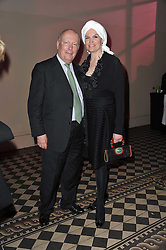 LORD & LADY FELLOWES at a fashion show by Catherine Walker & Co in support of The Haven held at One Mayfair, North Audley Street, London on 18th May 2011.