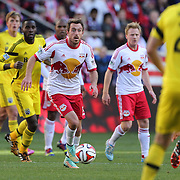 Eric Alexander, New York Red Bulls, in action during the New York Red Bulls Vs Columbus Crew, Major League Soccer regular season match at Red Bull Arena, Harrison, New Jersey. USA. 19th October 2014. Photo Tim Clayton