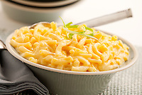 Cheese macoroni made from freeze dried food storage.