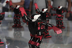China -Dancing Robots Amuse People - 20 Sep 2016