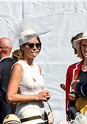 Henley-on-Thames. United Kingdom Hats at Henley,  2017 Henley Royal Regatta, Henley Reach, River Thames. <br /> <br /> <br /> 15:41:15  Sunday  02/07/2017   <br /> <br /> [Mandatory Credit. Peter SPURRIER/Intersport Images.