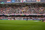 England fans ahead of the UEFA Nations League semi-final match between Netherlands and England at Estadio D. Afonso Henriques, Guimaraes, Portugal on 6 June 2019.