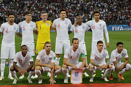 Team of England before the 2018 FIFA World Cup Russia, semi-final football match between Croatia and England on July 11, 2018 at Luzhniki Stadium in Moscow, Russia - Photo Thiago Bernardes / FramePhoto / ProSportsImages / DPPI