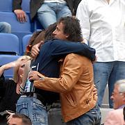NLD/Amsterdam/20070602 - Toppers in Concert 2007, Marco Borsato verwelkomt zijn broer Armando