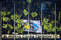 Striscione dei Tifosi Frosinone, banner, fans, supporters   <br /> Frosinone 20-12-2015 Stadio Matusa <br /> Football Calcio Serie A 2015/2016 Frosinone - Milan<br /> Foto Cesare Purini / Insidefoto