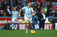 Murray Wallace of Huddersfield Town in action. Skybet football league Championship match, Huddersfield Town v Leeds United at the John Smith's Stadium in Huddersfield, Yorks on Saturday 7th November 2015.<br /> pic by Chris Stading, Andrew Orchard sports photography.