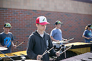 Shadow Armada practices in Sutton's Bay, Michigan on July 9, 2015.