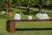 Mikayel Ohanjanyan, Senza Titolo, 2016, <br /> Tornabuoni Art - The Frieze Sculpture Park 2016 comprises 19 large-scale works, set in the English Gardens between Frieze Masters and Frieze London. Selected by Clare Lilley (Yorkshire Sculpture Park), the Frieze Sculpture Park will feature 19 major artists including Conrad Shawcross, Claus Oldenburg, Nairy Baghramian,Ed Herring, Goshka Macuga and Lynn Chadwick. The installations will remain on view until 8 January 2017.