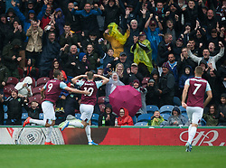Ashley Barnes of Burnley celebrates after scoring his sides first goal - Mandatory by-line: Jack Phillips/JMP - 10/08/2019 - FOOTBALL - Turf Moor - Burnley, England - Burnley v Southampton - English Premier League