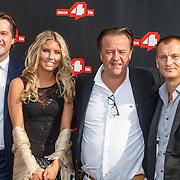 NLD/Amsterdam/20150626 - Dance4life's Funky Fundraiser 2015, Toine Born, Caitlyn Vogel, Jeroen van Kooten en Eelko van Kooten
