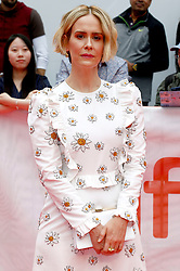 during the 44th Toronto International Film Festival at the TIFF Bell Lightbox on September 7, 2019 in Toronto, Canada. 07 Sep 2019 Pictured: Sarah Paulson. Photo credit: MEGA TheMegaAgency.com +1 888 505 6342