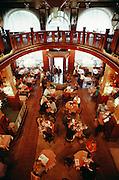Prague, Czech Republic. Wenceslas Square, Hotel Europa Café.