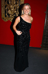 """LADY LUCINDA SAVILE at the 10th annual British Red Cross London Ball.  This years ball theme was Indian based - """"Yaksha - Yakshi: Doorkeepers to the Divine"""" and was held at The Room, Upper Ground, London on 1st December 2004.  Proceeds from the ball will aid vital humanitarian work, including HIV/AIDS projects that the Red Cross supports in the UK and overseas.<br /><br />NON EXCLUSIVE - WORLD RIGHTS"""
